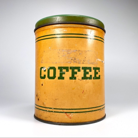 Vintage SMP Coffee Canister